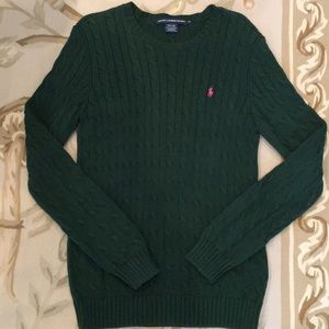 Polo Ralph Lauren Sport Cable Knit Sweater